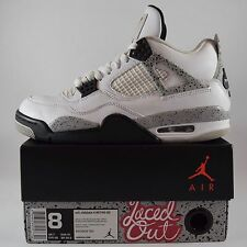 Air Jordan 4 Retro OG White Cement 2016 Size 8