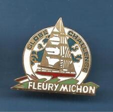 Pin's pin BATEAU VOILIER LE FLEURY MICHON GLOBE CHALLENGE modele 2 (ref 048)