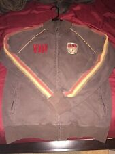 Blue Marlin Italy Italia Soccer Full Zip Track Jacket Large (L) Brown Red