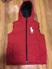 Ralph Lauren Boys Fully Padded Body Warmer/Gillet Aged 8/9 Years