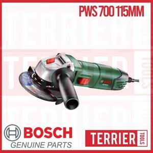 Bosch PWS 700-115 Angle Grinder 115mm 240 volt UK 3 pin plug (06033A2070)