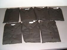 Lot of 7 Black XLarge Image First Professional Apparel Button Down Shirts