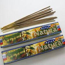Räucherstäbchen Natural 30g Satya Nag Champa  2 x15g indien goa hippie