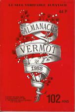 """Livre Humour """" Almanach Vermot 1988 -  102 ans """" ( 2292 )"""