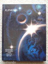 1997 LAYTON HIGH SCHOOL YEAR BOOK,  LAYTON, UTAH     ELEMENTS