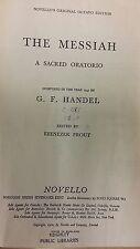 Handel: Messiah: Music Score (G5)