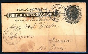 USAstamps Used US 1902 Nice Very Old Postcard