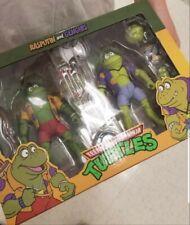 NECA Teenage Mutant Ninja Turtles Rasputin &  Genghis Action Figure set