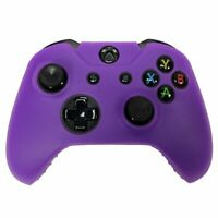 Purple Silicone Skin for Xbox One Controller Case Cover Gel Rubber Protective