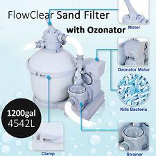 BESTWAY 4542L 1200gal Flowclear Sand Filter Pump Ozonator Pool Clean Accessory