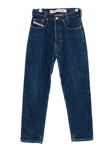 Diesel NEW SADDLE Blue Relaxed Tapered Fit Jeans W29 L32