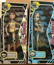 2010 Monster High Gloom Beach Jackson Jekyll Frankie Stein Barbie doll NEW 2