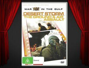 DVD Documentary   Desert Storm: The Ground & Air Assault (1990)   The Gulf War