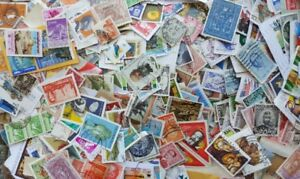 World Stamp mix 5,000 Stamps to sort on and off paper incl older.