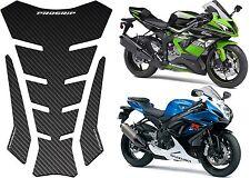 Progrip PG5008CARBON '5008 Series' Carbon Fiber Motorcycle Tank Pad Bike New USA