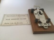 Tameo Built 1978 Brazilian GP Arrows FA1 1/43 No 36