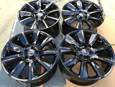 """20"""" NEW BLACK OEM FACTORY RANGE ROVER SPORT SUPERCHARGED AUTOBIOGRAPHY WHEELS."""