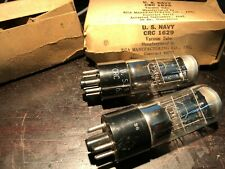 RCA CRC 1629 US NAVY VT-138 Magic Eye tube (2) NOS