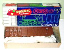 NOS Roundhouse HO Gauge 50' Outbraced Boxcar 2165 Great Northern Kit