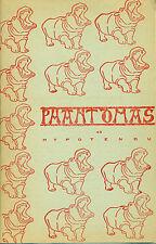 PHANTOMAS. Revue. 43. Hypotendu. Décembre 1963