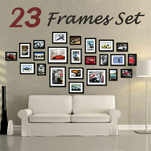 23Pack Multi-Picture Collage Photo Frame Frames Aperture Art Deco Wall DIY Set