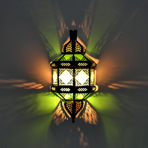 Oriental Moroccan Wall Lamp Wall Light Lampshade Made of Glass Tita