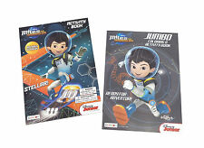 New Set of 2 Miles From Tomorrowland Kids Coloring Book and Activity Books Set