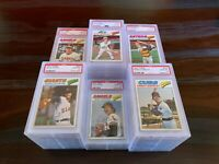 1977 TOPPS BASEBALL PSA 10 GEM MINT -- PICK ANY CARD(S) FROM THE LIST