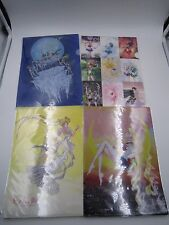 Sailor Moon Exhibition 2016 Limited A4 Size Clear File Folder Set of 4 Japan