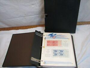 White Ace US Commemoratives Stamp Album Liberty Series 1957 - 1962 Mint Block