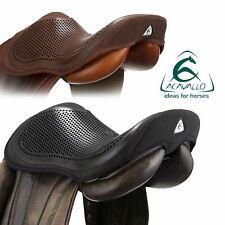 ACAVALLO GEL OUT SEAT SAVER Non-Slip Secure Saddle Safety Gel Black Size Large