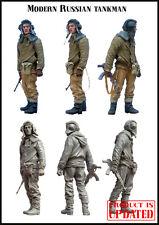 Evolution Miniatures 1:35 Modern Russian Tankman Resin Figure Kit #EM-35011