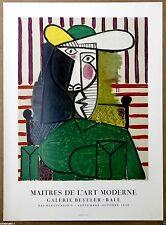 Picasso Maitres De L Art Moderne Rare Original Wasserman Stone Lithograph