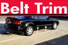 Oldsmobile ALERO CHROME SIDE BELT TRIM DOOR MOLDING 99 00 01 02 03 04