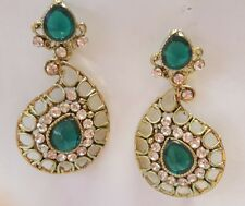 7 pair Indian costume Jewellery Traditional  Fashion Bollywood  Earrings~$28.