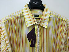 "Paul Smith London Multistripe Classic Fit 16.5"" Extremely RARE Shirt"