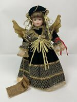 Seymour Mann Connoisseur Porcelain Doll Angeline Christmas Angel