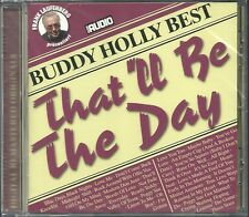 Holly, Buddy tra l'altro that 'll be the day (Best of) Zounds CD NUOVO OVP SEALED