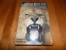 LAST HORIZONS Peter Hathaway Capstick 5 Continents Africa Safari Hunt Book NEW