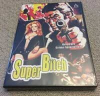 Super Bitch 1973 DVD Super Rare Limited To 500 Copies OOP New Exploitation