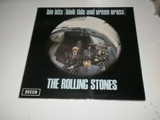 THE ROLLING STONES - Big Hits (High Tide And Green Grass) - LP UK 1972 GF DECCA