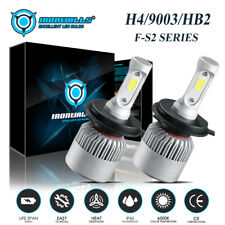 H4 9003 HB2 HS1 LED Headlight Bulb Conversion Kit High Low Beam 6000K 300000LM