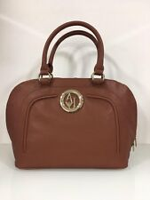 Armani Jeans Brown Twin Zip Logo Bag New With Tag / Dustbag