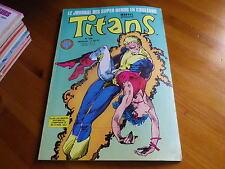 TITANS n° 108 de 1988 X-MEN - EPSILON - VENGEUR DE LA COTE OUEST TBE comme neuf