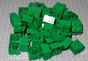 LEGO Bricks  2x2 x 50 pcs - Green - Used