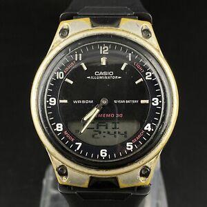 Vintage Casio Illuminator WR 50m 2747 Japan Made Men's Wrist Watch Working