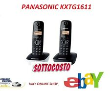 TELEFONO PANASONIC CORDLESS DIGITALE KXTG1611 GLOBAL N1 BRAND OFFERTA
