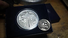 Coalburn classic Hobo Nickel engraved silver round 2 sided UFO alien
