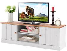 TV Hifi Lowboard Fernsehtisch Fernsehschrank Wohnzimmer Landhaus Kiefer Holz