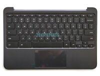 Genuine HP Chromebook 11 G4 EE Palmrest US Keyboard & Touchpad 851145-001